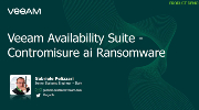 Veeam Availability Suite - Contromisure ai Ransomware