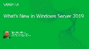 Windows Server 2019 yenilikleri