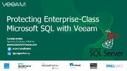 Protecting enterprise-class Microsoft SQL deployments with Veeam