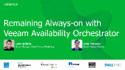 Orchestrate Availability with Veeam