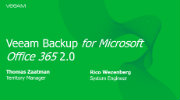 Veeam Backup voor Microsoft Office 365 2.0
