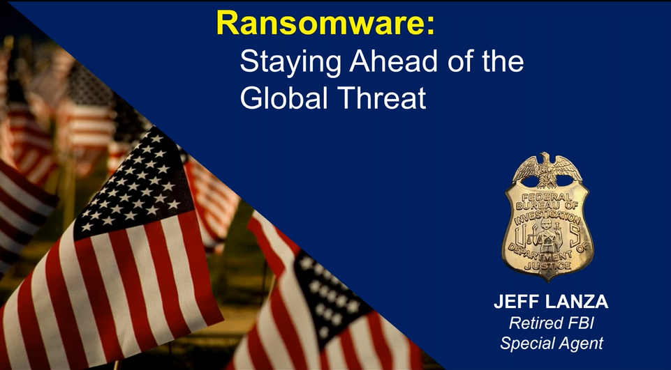 FBI 20-year veteran and Veeam: Ransomware Prevention and Protection Strategies