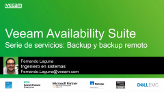 Veeam Availability Suite v9: Backup y Offsite