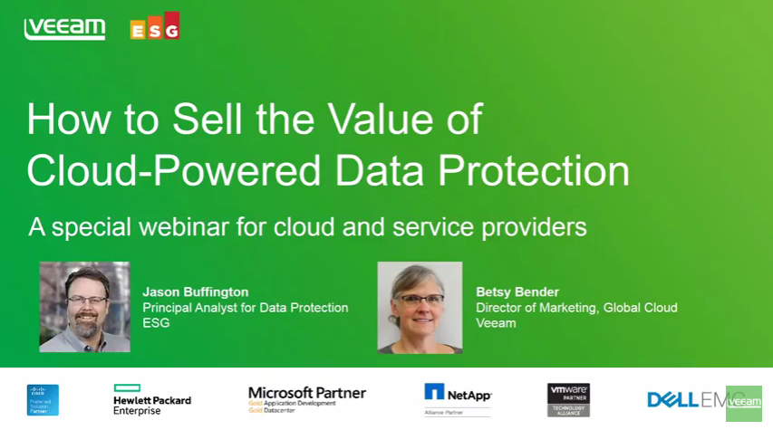 How to Sell the Value of Protecting Data to the Cloud
