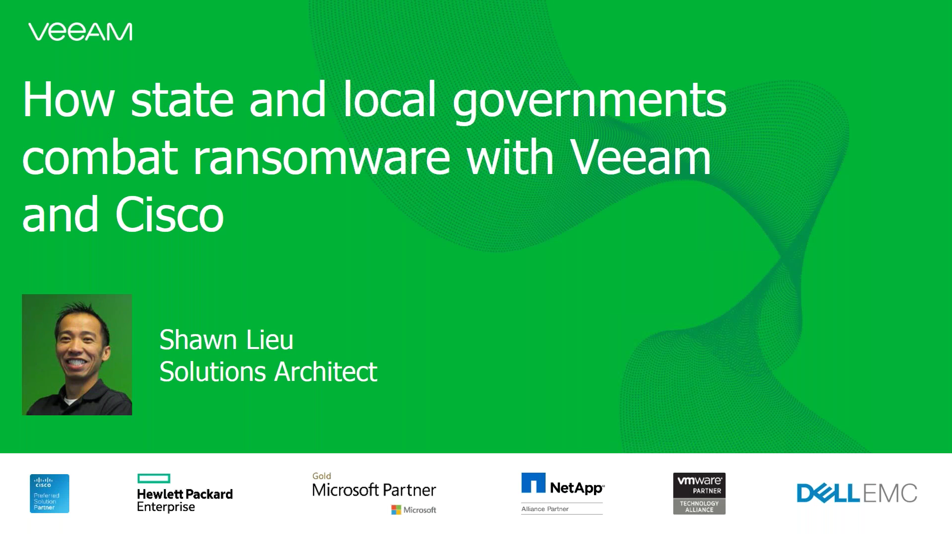 How state and local governments combat ransomware  with Cisco & Veeam