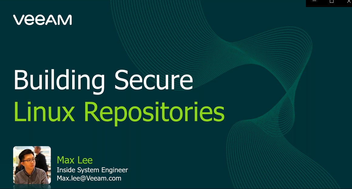 Building Secure Linux Repositories [In Cantonese]