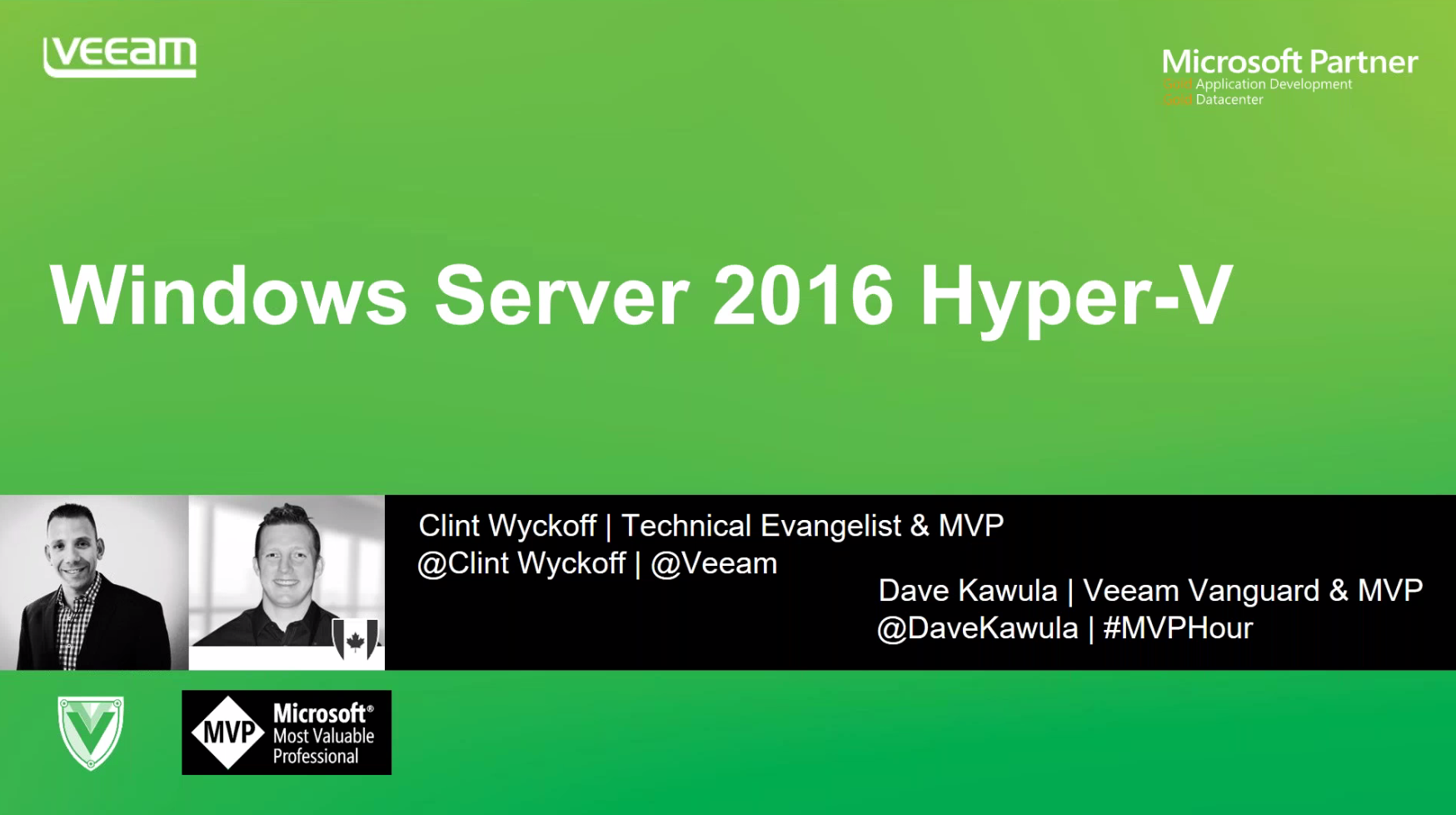 Hyper-V 2016: The Next Generation of Virtualization
