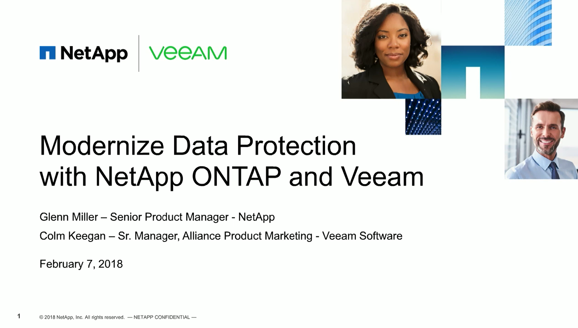 Modernize Data Protection with NetApp ONTAP and Veeam
