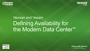 Nexsan by Imation and Veeam Deliver Rack-efficient Data Protection