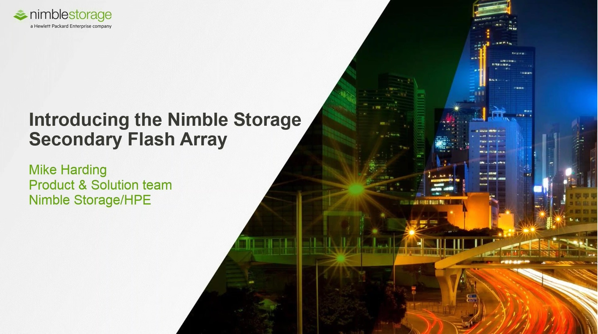 Data Availability solutions with  Veeam, Nimble Storage and FusionStorm