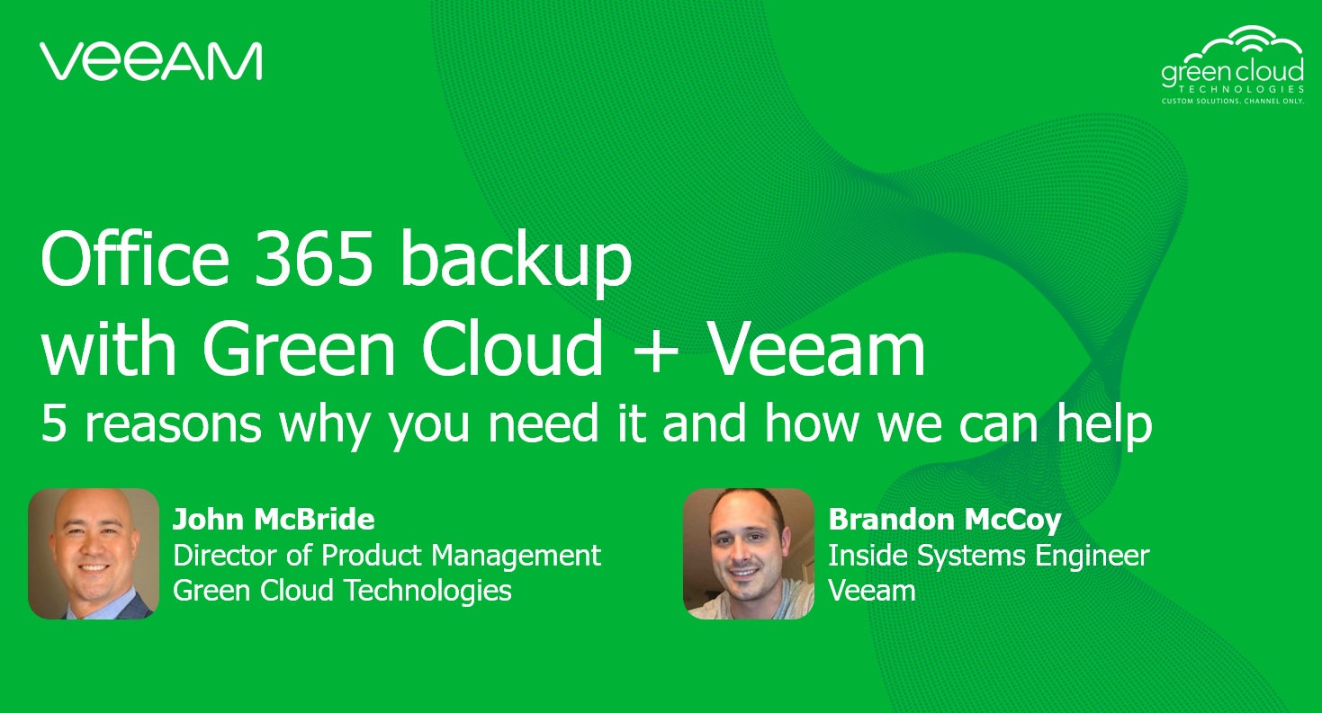 5 Reasons you need an Office 365 backup plan