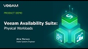 Veeam Availability Suite — Workloads physiques