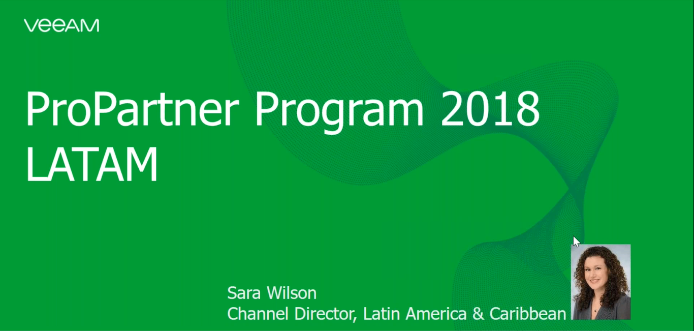 Caribbean - Veeam 2018 ProPartner Program