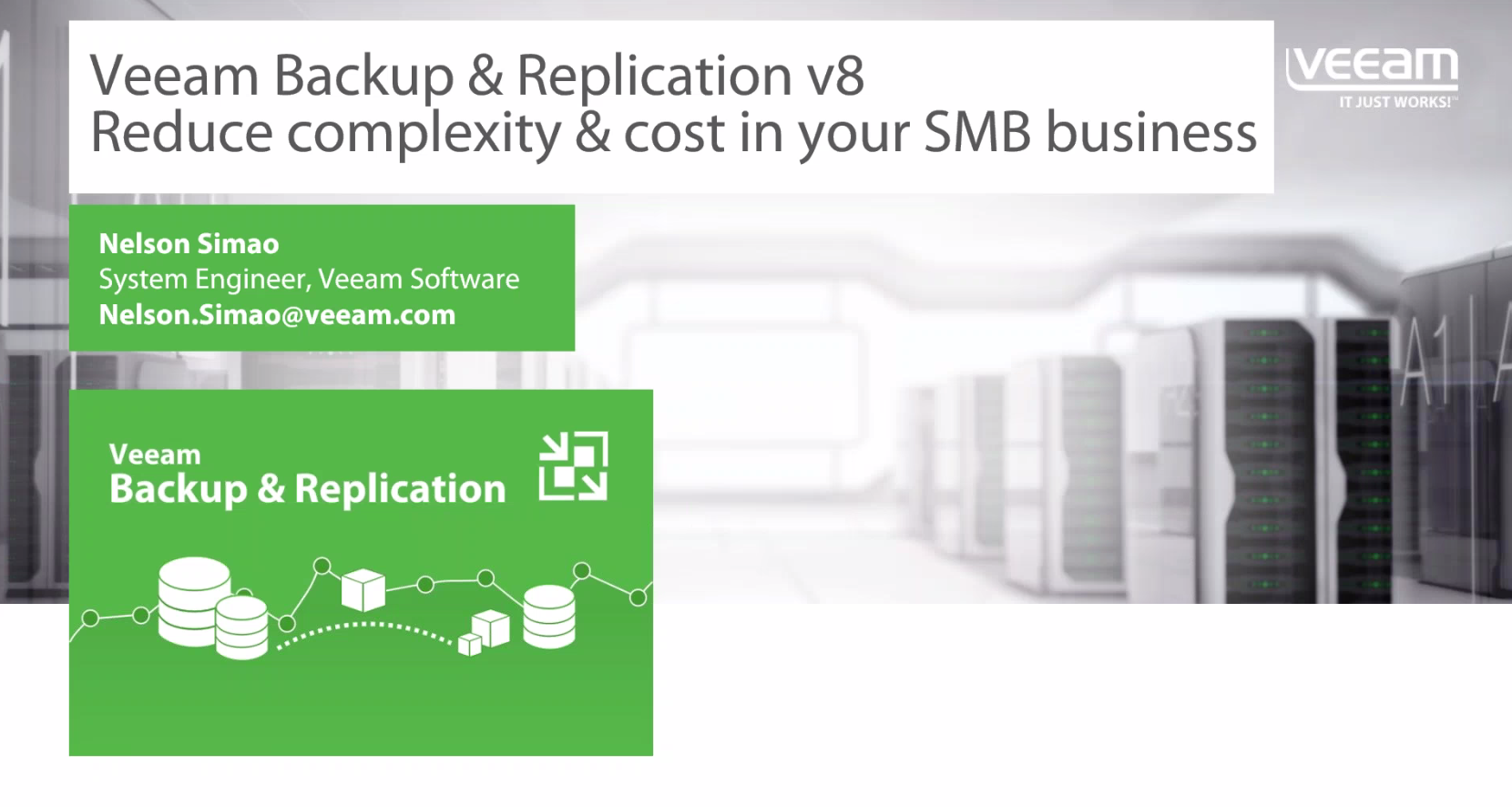 Reduce Complexity and Cost in Your SMB Business with Veeam Backup and Replication (ANZ)