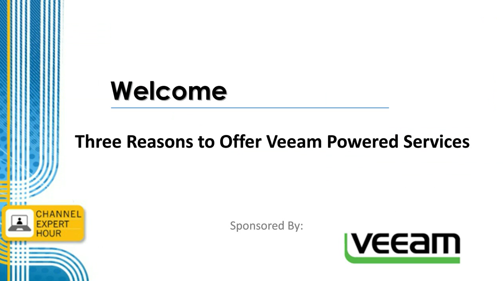 Three Reasons to Power with Veeam