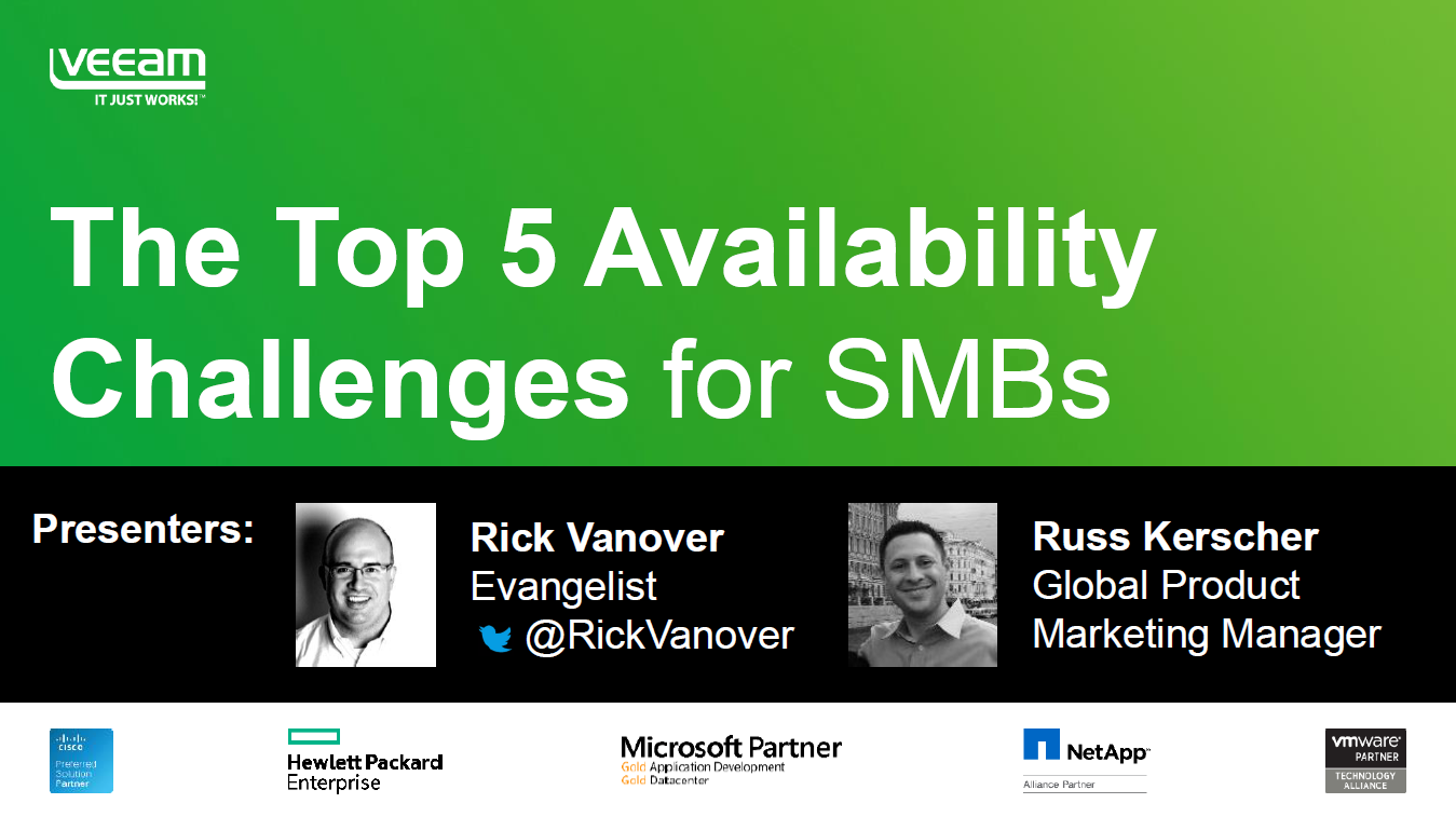 Top 5 Availability Challenges for SMBs