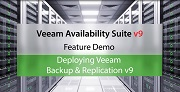 Veeam Availability Suite v9: Installation and Deployment