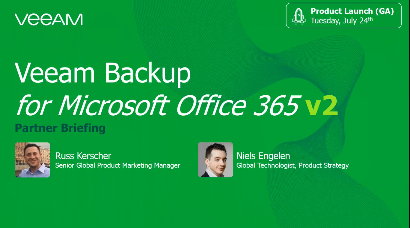 #1 Backup & Recovery for Microsoft Office 365