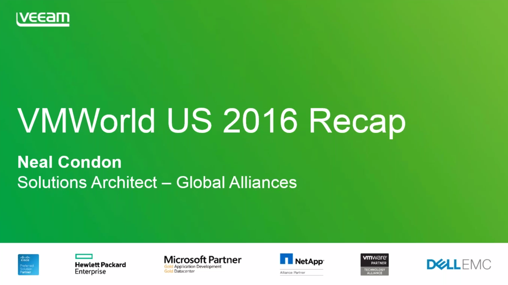 VMworld US 2016: What you need to know