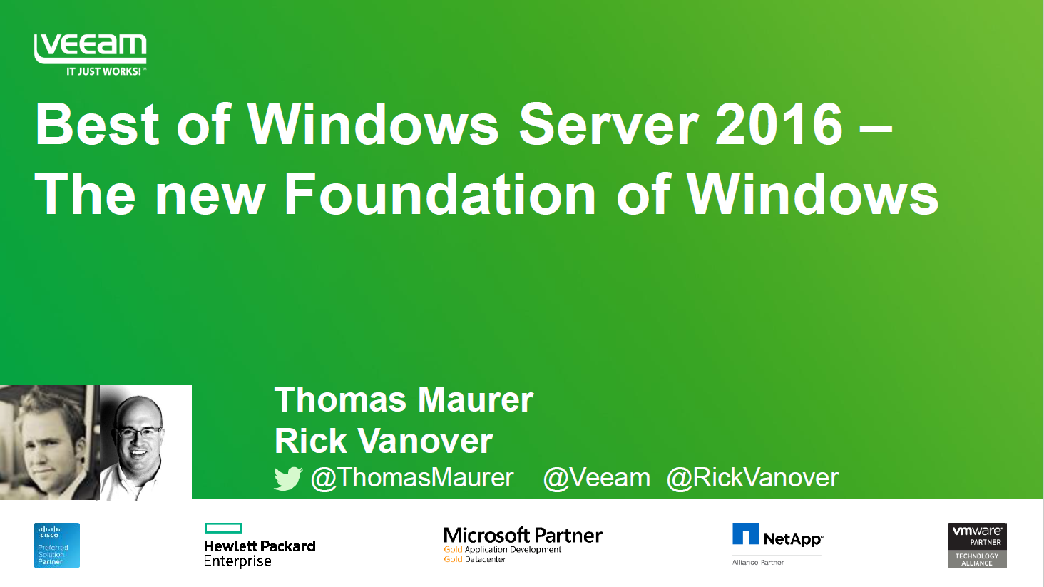 Best of Windows Server 2016 – The New Foundation of Windows