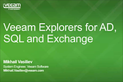 New Explorers for Microsoft SQL server, Active Directory and Exchange (Middle East/India+SAARC)