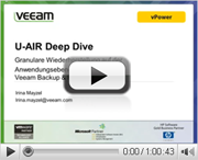 Veeam U-AIR deep dive