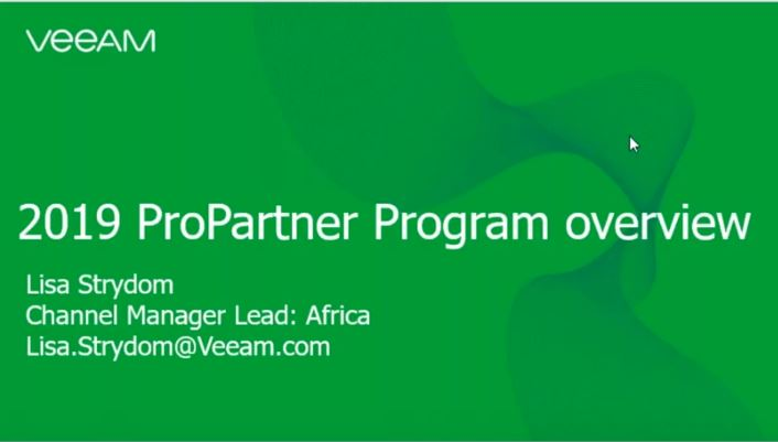 2019 ProPartner Program overview South Africa