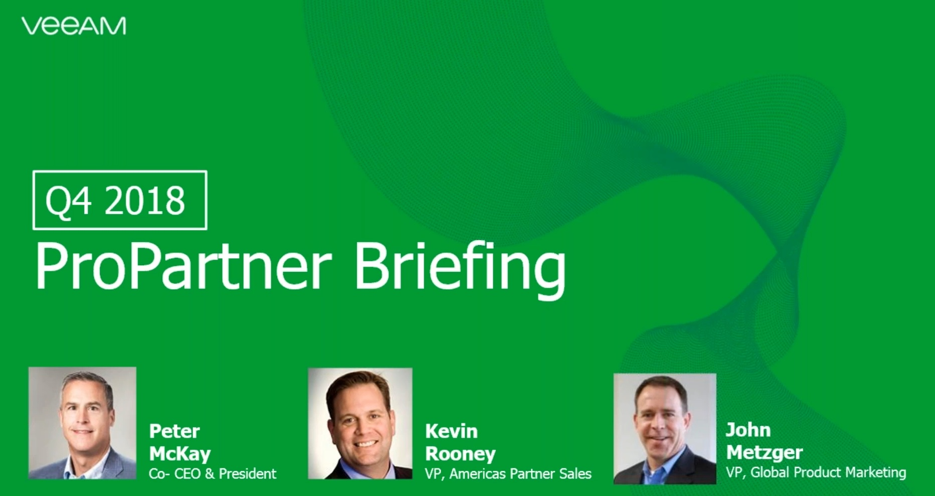 Q4 ProPartner Briefing