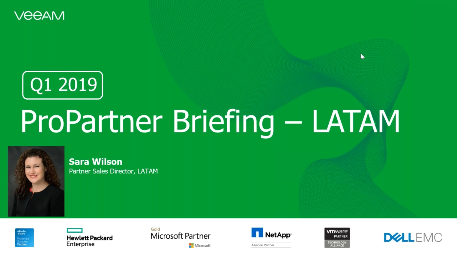 ProPartner Briefing: NUEVAS Reglas para el Programa ProPartner LATAM Veeam 2019