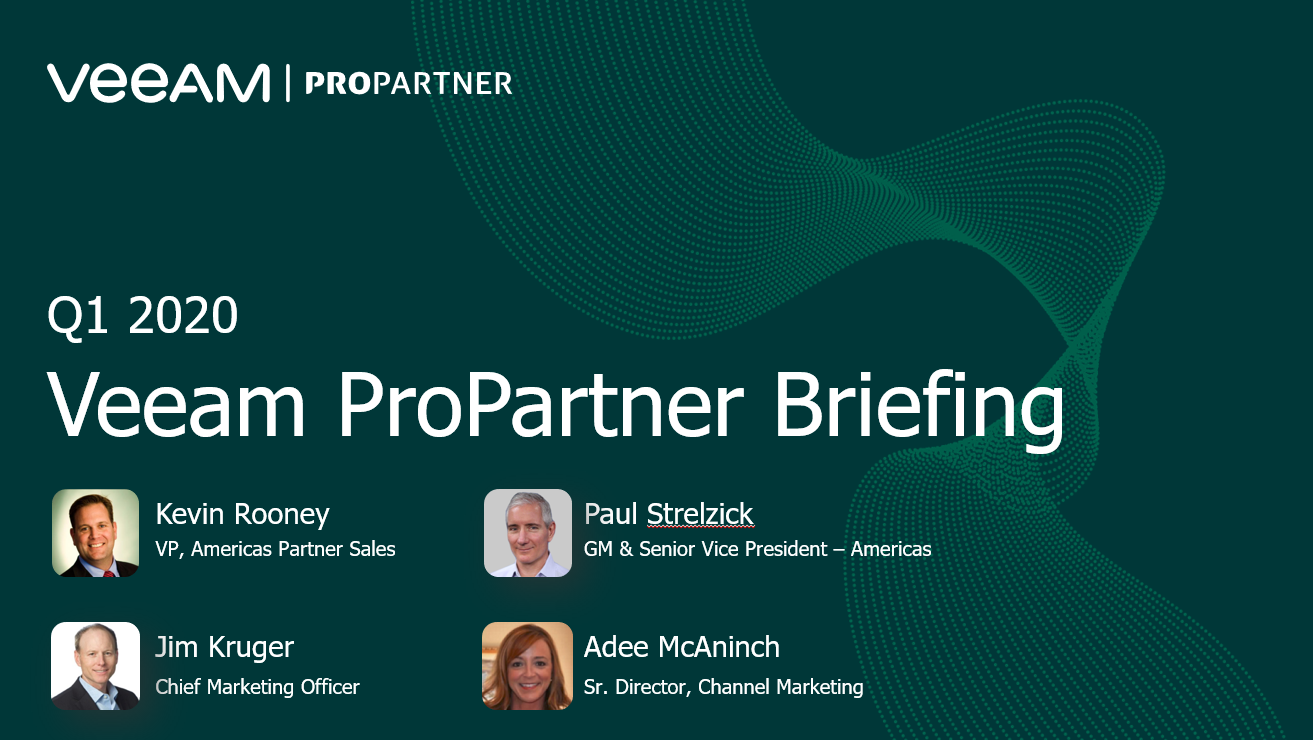 Q1 ProPartner Briefing Webinar