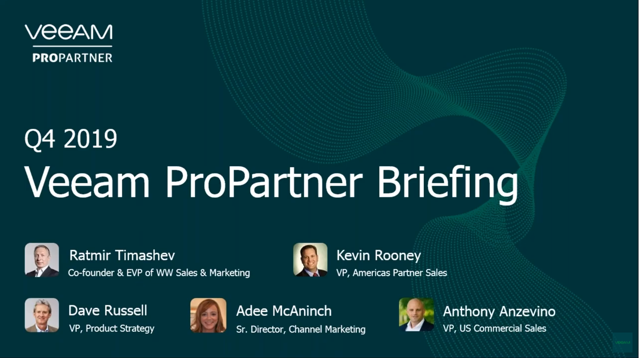 Q4 ProPartner Briefing Webinar