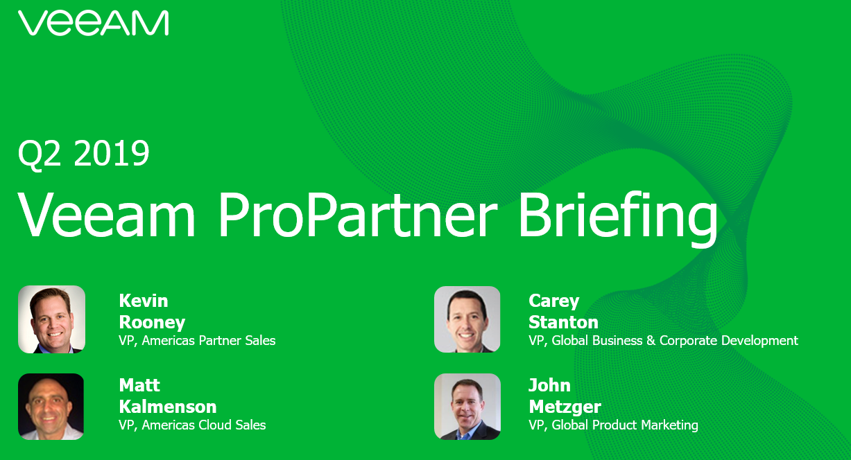 Q2 ProPartner Briefing Webinar