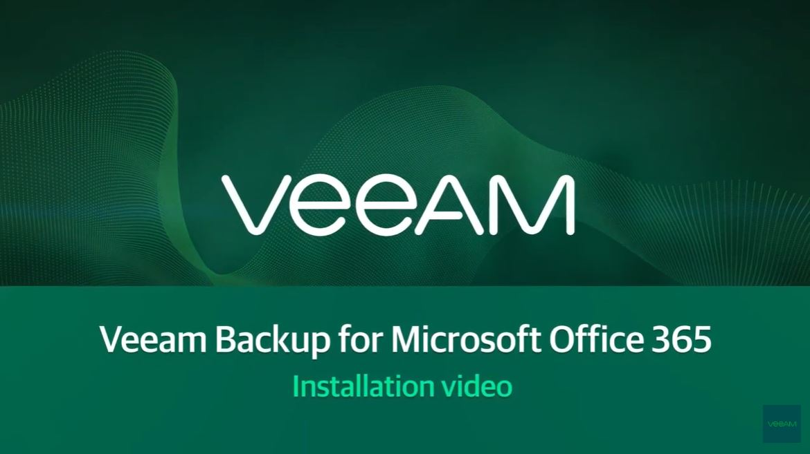 Rychlá instalace produktu Veeam Backup for Microsoft Office 365