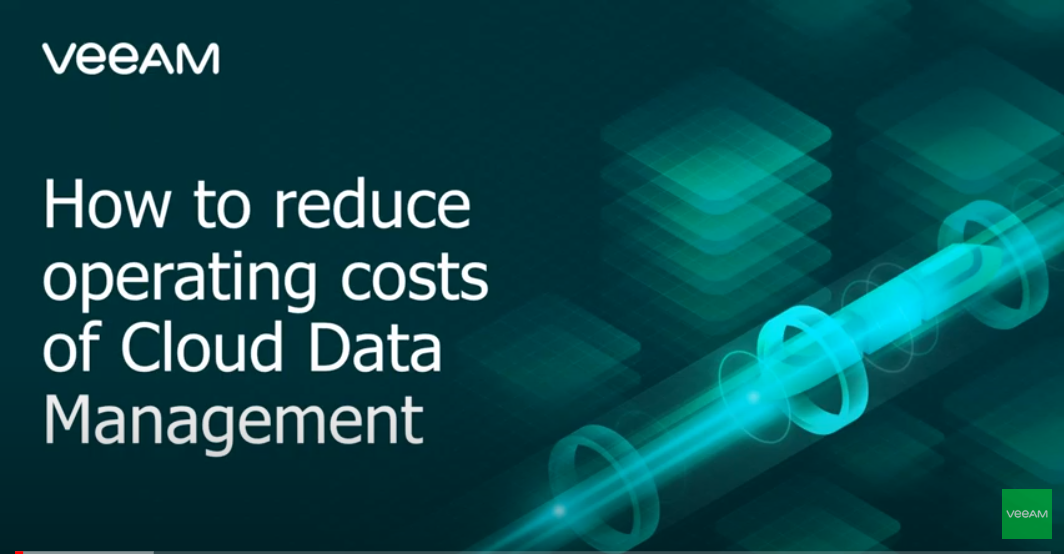 How to reduce operating costs of Cloud Data Management