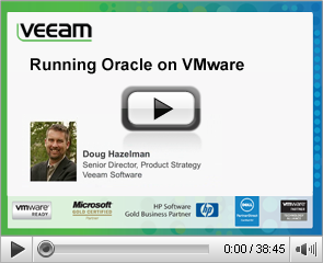 Running Oracle on VMware