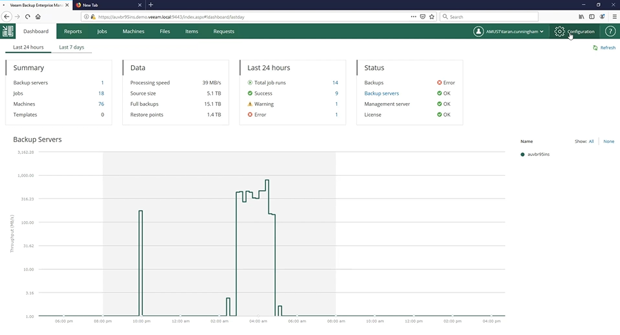 Tips and tricks on using Veeam Self-Service portal