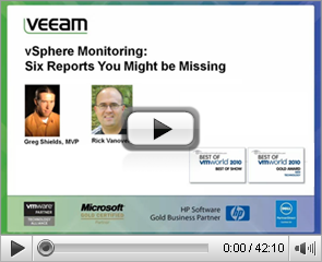 vSphere Monitoring: Six Reports You Might be Missing