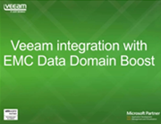 Veeam & EMC Data Domain --