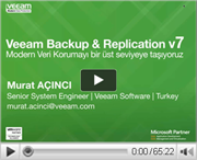 Veeam Backup & Replication v7 huzurlarınızda!