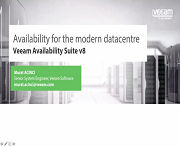 Veeam Availability Suite v8'e giriş