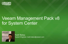 Veeam Management Pack v8 for System Center yenilikleri