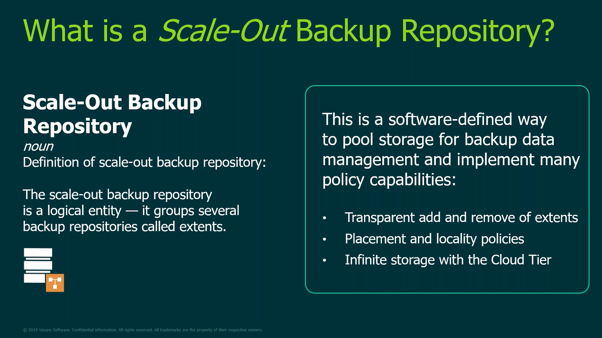 How to get unlimited storage with Veeam Scale‑out Backup Repository
