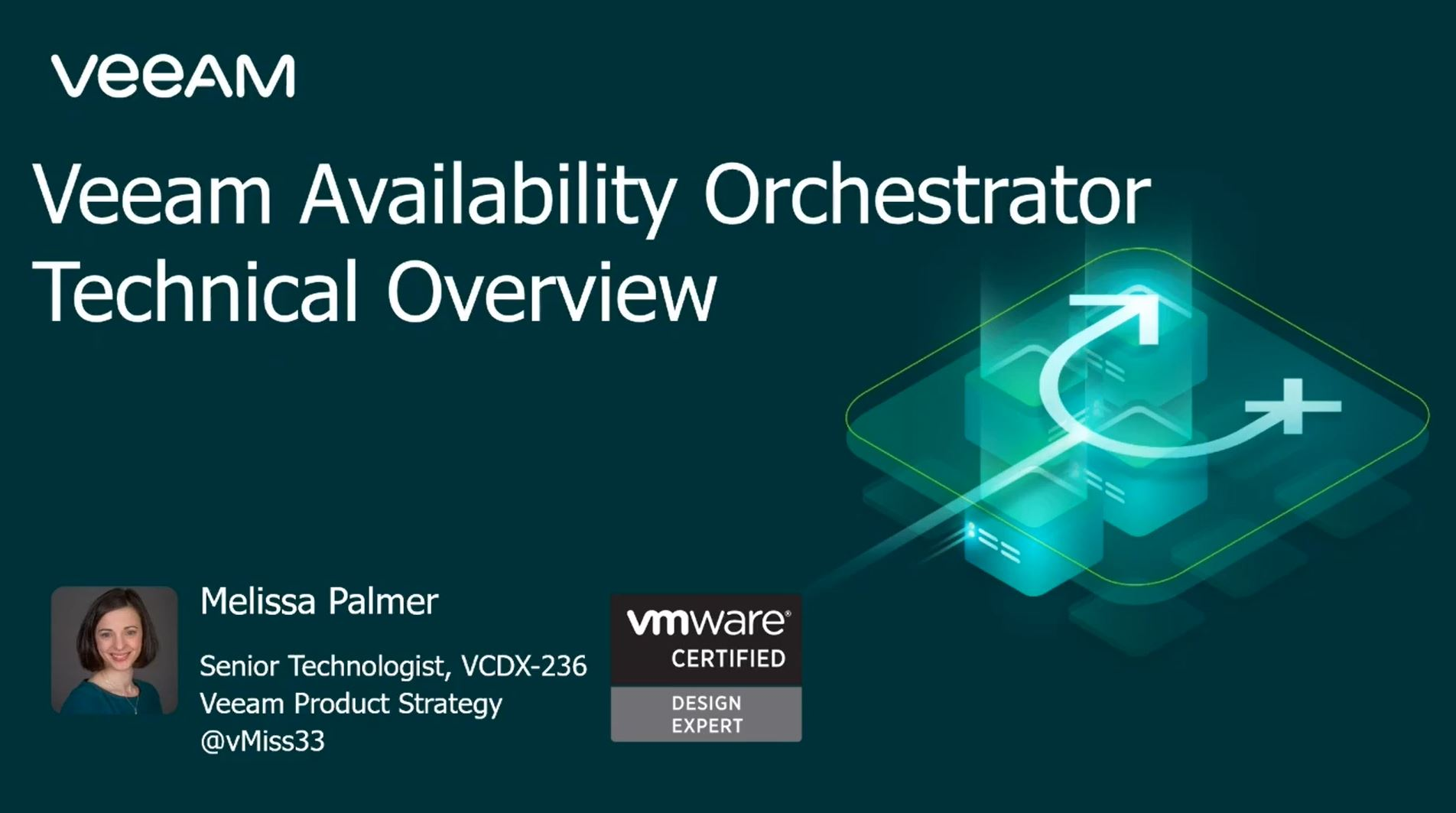 Veeam Availability Orchestrator - a technical deep dive