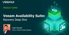 Veeam Availability Suite – Recovery Deep Dive