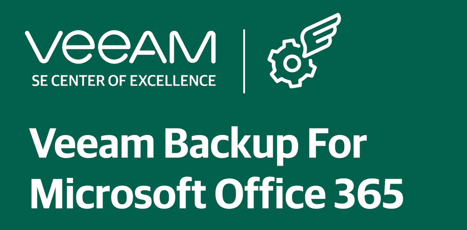 Veeam Backup for Microsoft Office 365 — Configuration guide