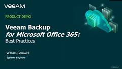 Veeam Backup for Microsoft Office 365 – Best Practices