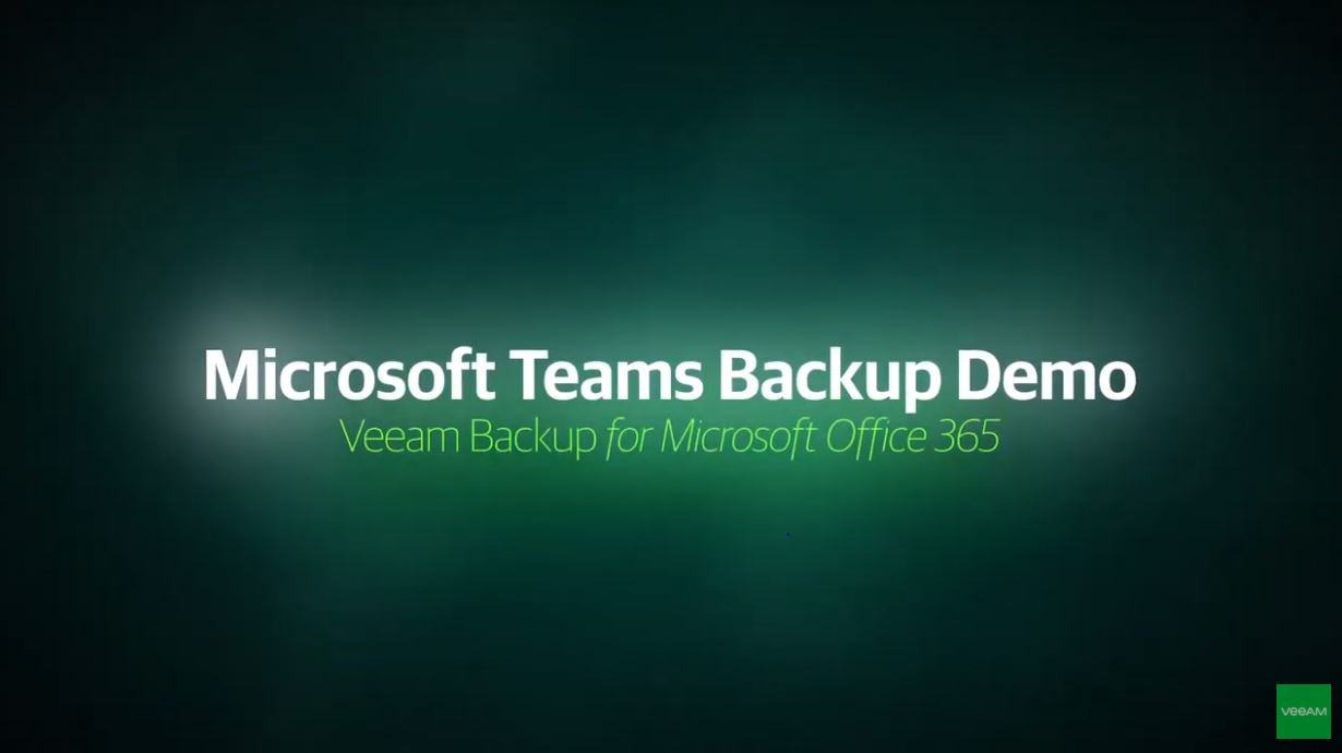 Microsoft Teams Backup Demo
