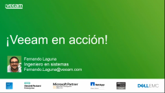 Veeam Availability Suite 9.5: En acción