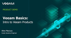 Veeam Basics