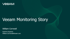 Monitoring with Veeam ONE